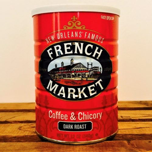 New Orleans' Famous French Market Coffee & Chicory (Dark Roast)