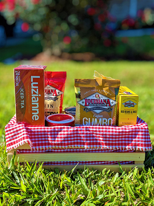 Cajun and Creole Gift Crate