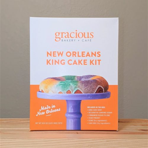 Gracious Bakery+Cafe New Orleans King Cake Kit