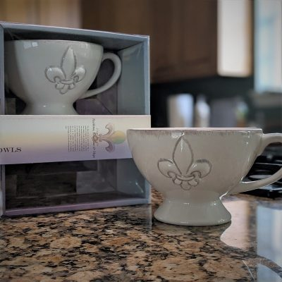 The Perfect Everything Bowl (Fleur-de-lis)